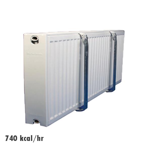 رادیاتور پنلی فولادی 740kcal/hr گیتی پسند