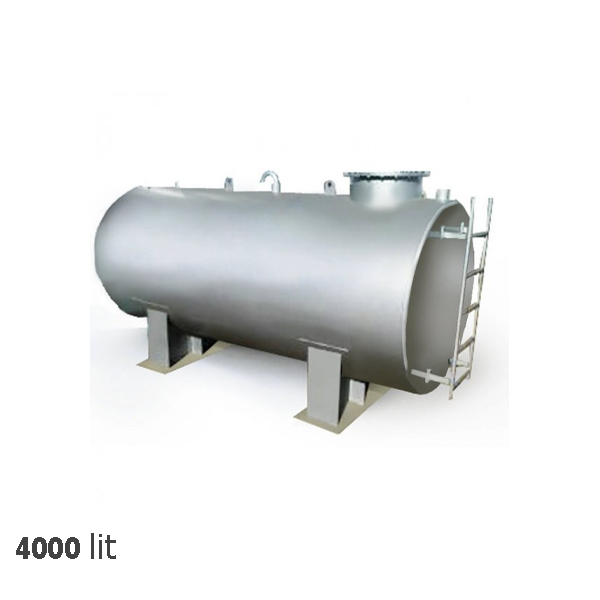منبع آب سرد خانه تاسیسات 4000 لیتری