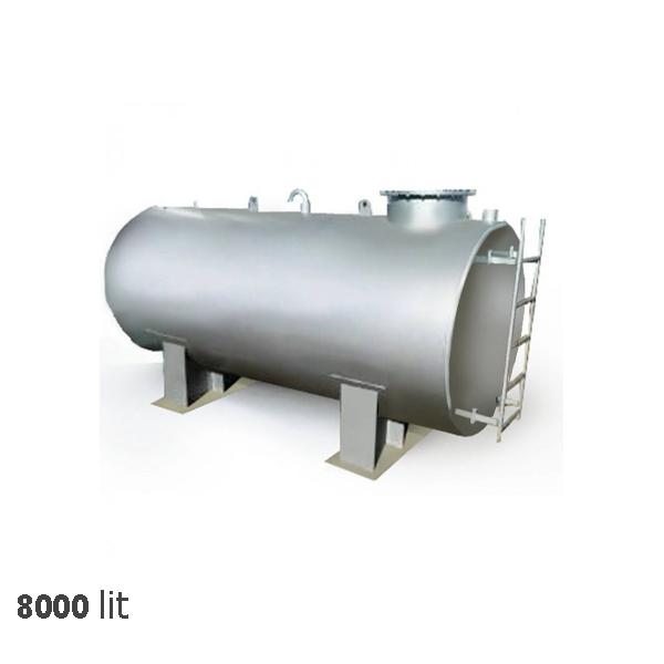 منبع آب سرد خانه تاسیسات 8000 لیتری