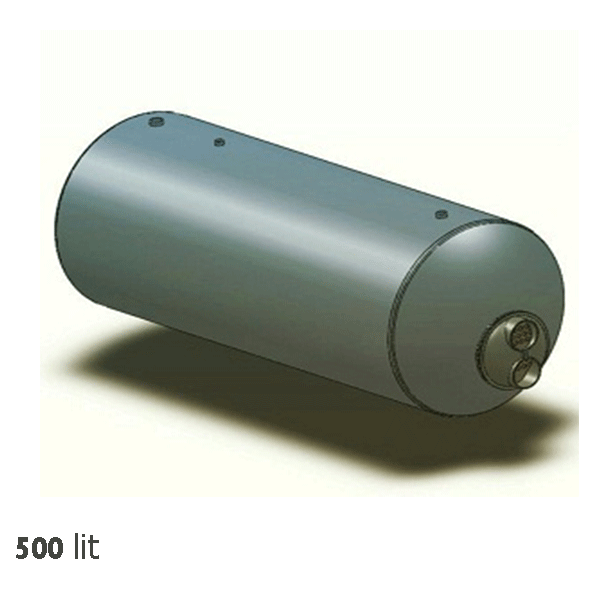 منبع کویل دار افقی خانه تاسیسات 500 لیتری