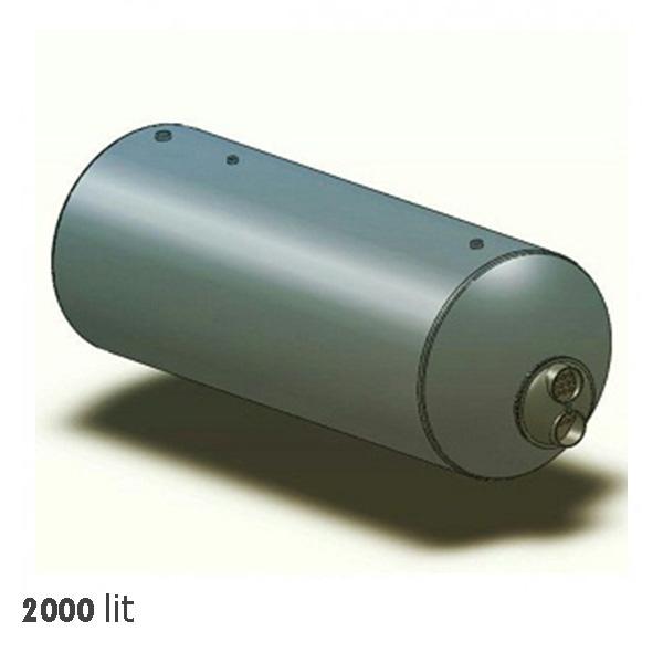 منبع کویل دار خانه تاسیسات 2000 لیتری