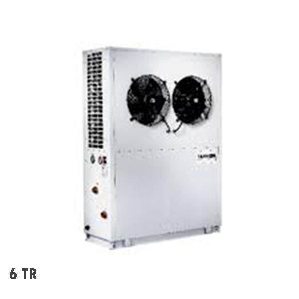 مینی چیلر سرمایشی گرمایشی تهویه 6 تن R-22
